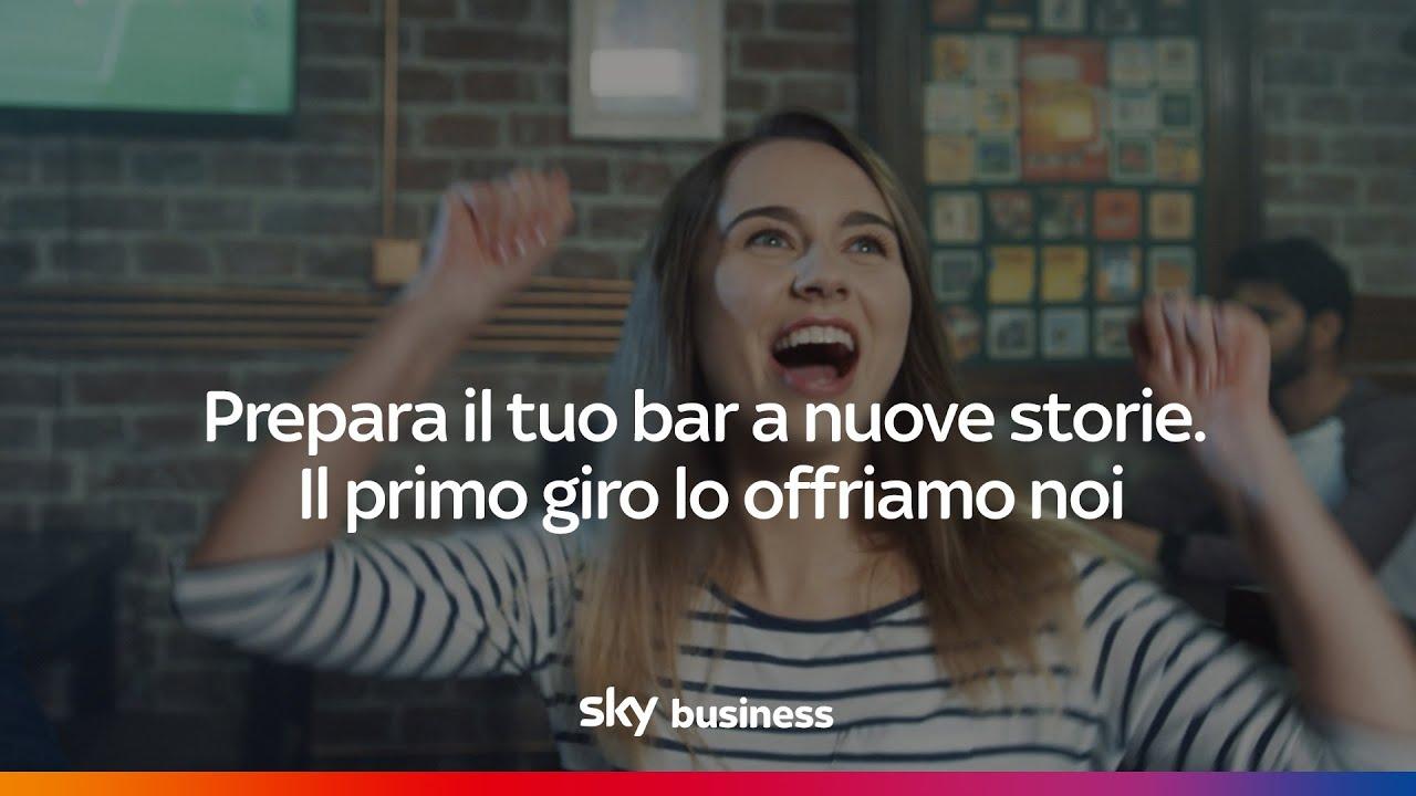 Sky business | Un bar con Sky non è solo un bar