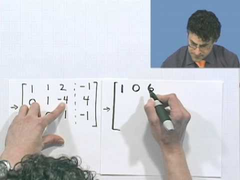 Gauss-Jordan Elimination