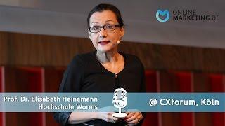 Unternehmen müssen für Kunden Mehrwert schaffen - Prof. Dr. Elisabeth Heinemann, DigitalOPTIMISTIN