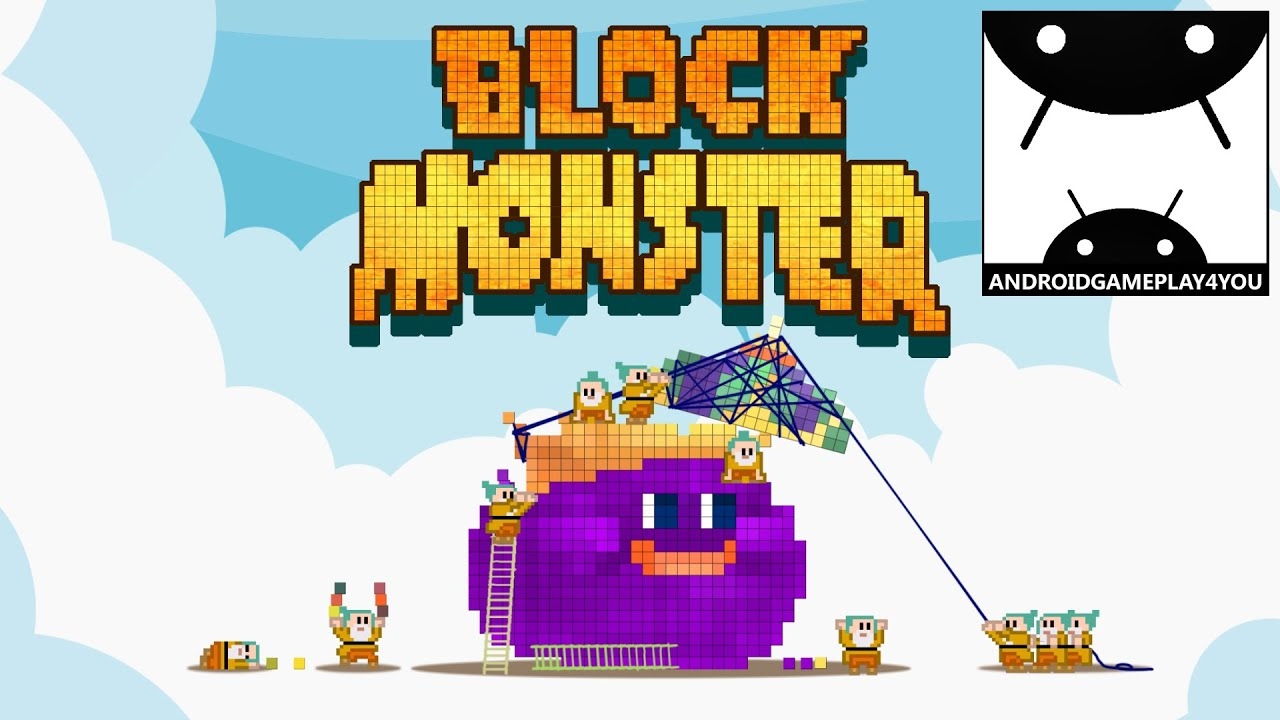 block monster android gameplay trailer 1080p by plampsoft game for kids youtube. Black Bedroom Furniture Sets. Home Design Ideas