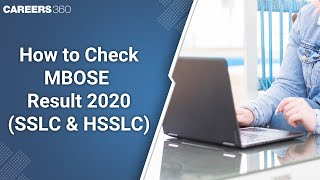 How to Check MBOSE Result 2020 (SSLC & HSSLC)?