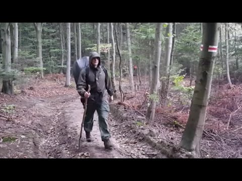 Wildcamping 2 nights in Polish deep woods - Witchers' homela