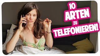 10 Arten zu telefonieren | One-Taker Sketch by Joyce