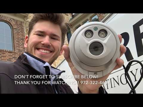 Lux Technologies Home Security Camera Installation 1080p 2MP