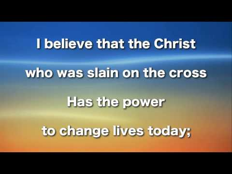 I Believe In a Hilled Called Mt  Calvary, Instrumental
