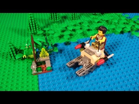 Lego 9461 The Swamp Creature Review Monster Fighters