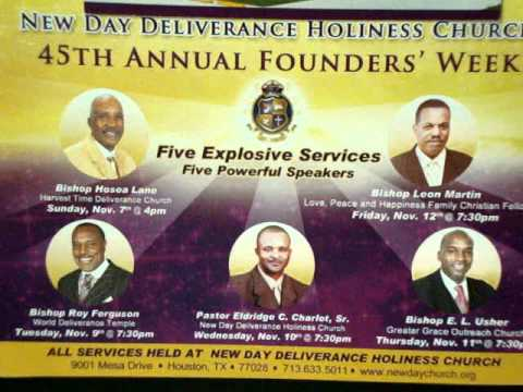 New Day Church Founders Celebration, Apostle Taylor