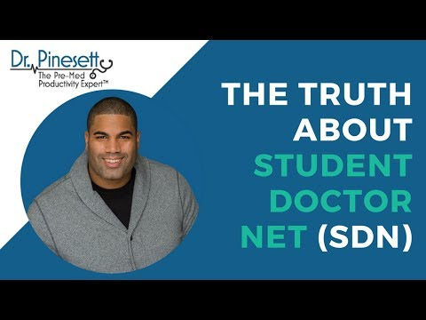 The Truth About Student Doctor Net (SDN) - YouTube