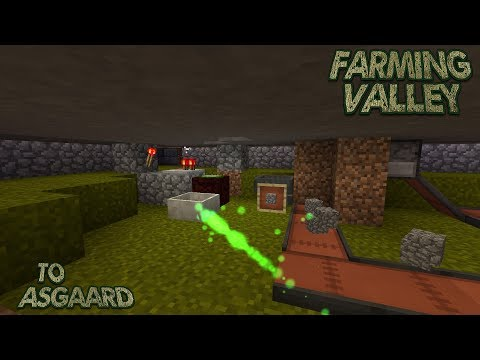 Farming Valley Modded Minecraft LP EP #51: Automatic Cobblestone