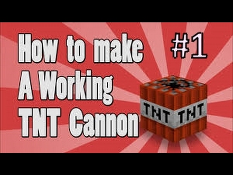 minecraft how to make a tnt canon minecraft in 2017 youtube. Black Bedroom Furniture Sets. Home Design Ideas