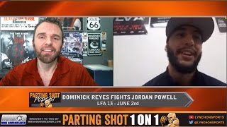 "Dominick Reyes talks LFA debut June 2nd, training w/ Curtis Blaydes & ""Rick and Morty"""