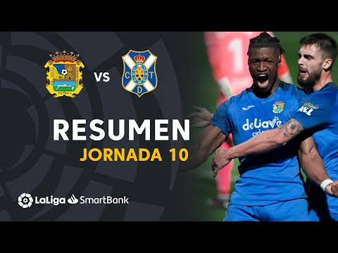 CF Fuenlabrada Tenerife Goals And Highlights