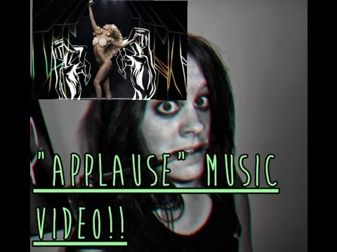 THE APPLAUSE MUSIC VIDEO REVIEW!!
