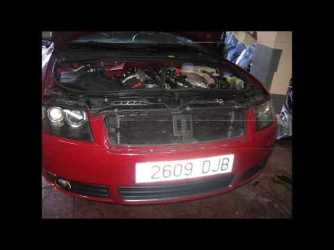 Audi A4 1.8T cabrio motor BFB. Reparaciones. (Secuencia de fotos) Repairs, reconditioning.