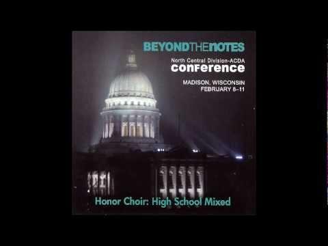 """Evening Hymn"" - Henry Balfour-Gardiner - NC-ACDA 2012"