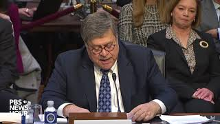 Watch: It's 'vitally Important' For Mueller To Complete Russia Probe, Barr Says