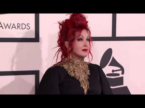 Cyndi Lauper at 56th Annual Grammy Awards