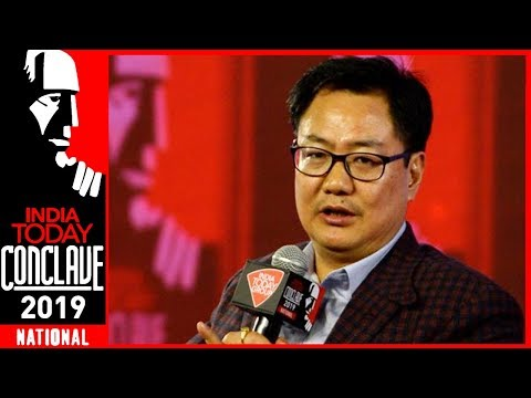 Kiren Rijiju Speaks On Current Security Situation Of The Nation | India Today Conclave 2019