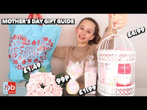 AFFORDABLE Mother's Day Gift Guide | HOME BARGAINS Haul March 2020