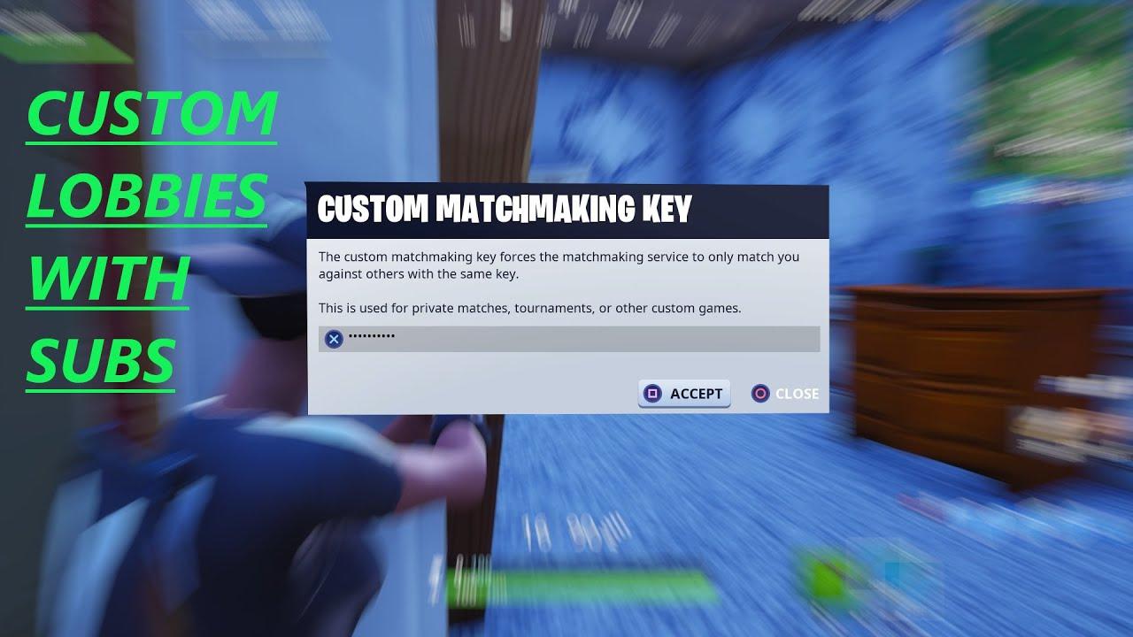 Fortnite Custom Matchmaking - YouTube