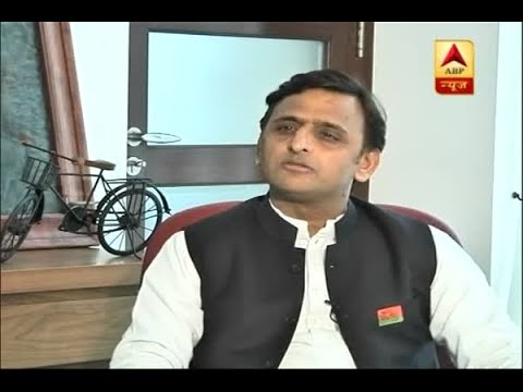 BJP is trying to break our coalition, Akhilesh Yadav tells ABP News