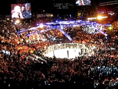 BJ Penn entrance at UFC 94