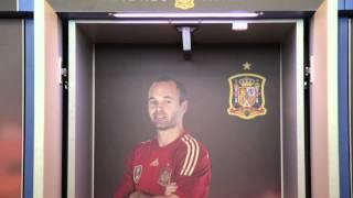 Así son los vestuarios de la Selección española de fútbol