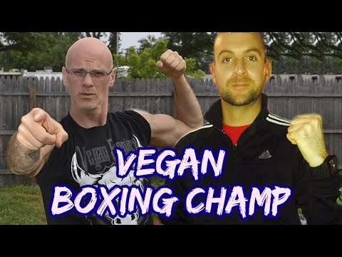 Vegan Boxing Champ