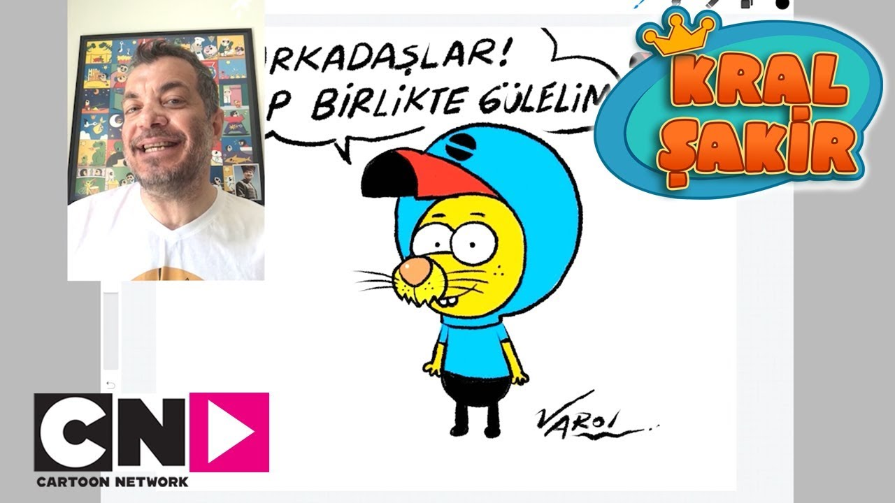 Sakir Nasil Cizilir Kral Sakir Cartoon Network Turkiye Youtube