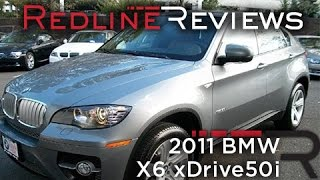 2011 bmw x6 xdrive50i walkaround review and test drive