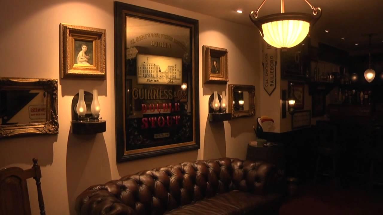 Man taps Irish pub for basement & Man taps Irish pub for basement - YouTube