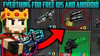 Get All Guns For Free - Pixel Gun 3D 15.0.2 Get Removed Weapons Android and IOS (No Root)