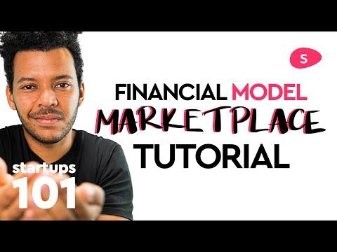 Marketplace Financial Model Tutorial: projecting revenue