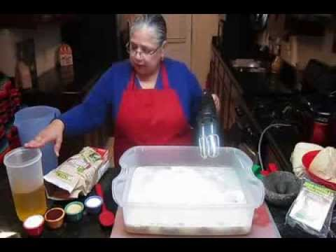 What is a good masa recipe for tamales?