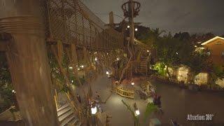 [4K] Tarzan's Treehouse Walk-through Tour - Disneyland 2017