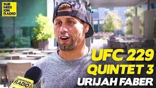 Urijah Faber Compares Khabib's Wrestling to Chad Mendes' Against Conor McGregor | UFC 229