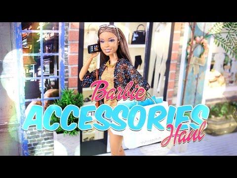Unbox Daily:  Barbie Accessories Haul - 4K