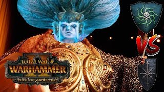 Vampire Coast vs Chaos | CYLOSTRA FIN SLAP - Total War Warhammer 2