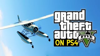GTA 5 PS4 Gameplay: DODO Sea plane! (Grand Theft Auto: V)