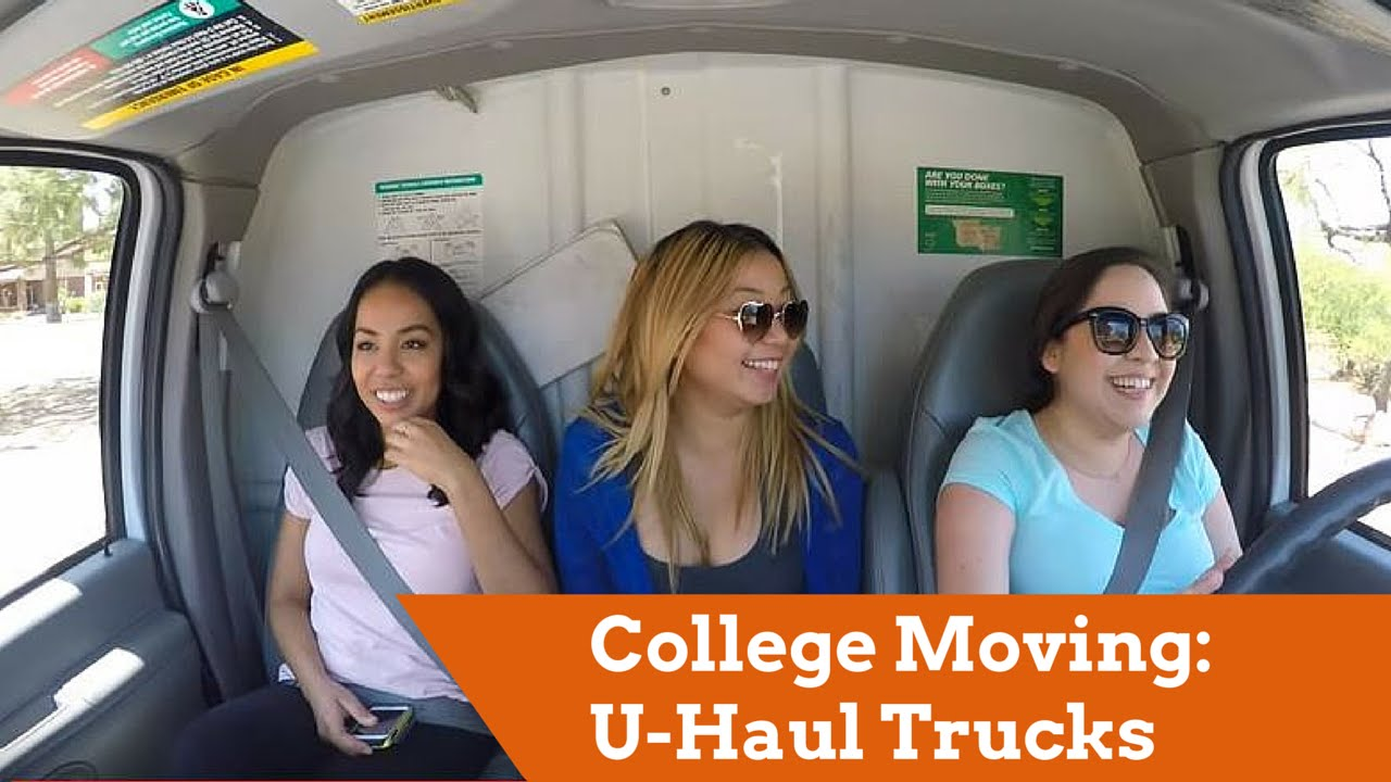 Uhaul Truck S College Moving U Haul Moving Trucks For Students Youtube