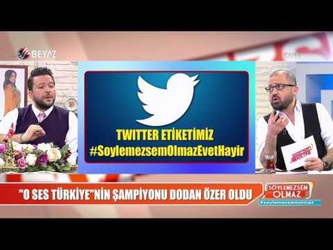 ''O Ses Türkiye''nin şampiyonu Dodan Özer oldu