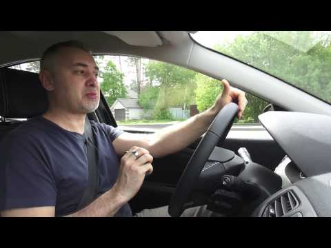 Renault Fluence 2013 рестайлинг - тест драйв с Александром Михельсоном!