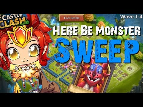 Castle Clash Here Be Monster Sweep!!