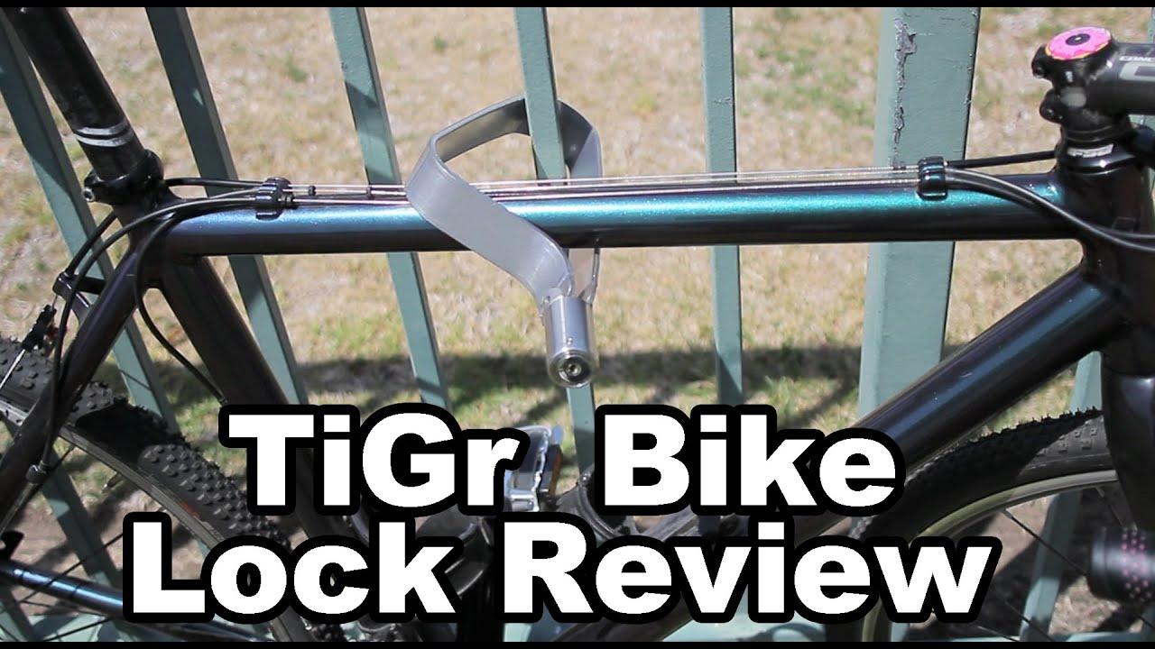 Kids Bike ONETEKS Bike Lock Portable Bicycle Lock Cycling Locks Anti-Theft High Security for Mountain Bike Road Bike Commute Bike