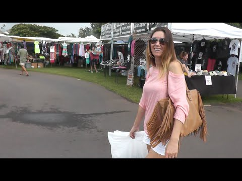 Vlog: Garage Sales, Succulents, Upcountry Maui, Centipede Bite