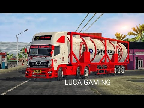 🔥Hino 500 heavy tanker mod for Bussid 🔥