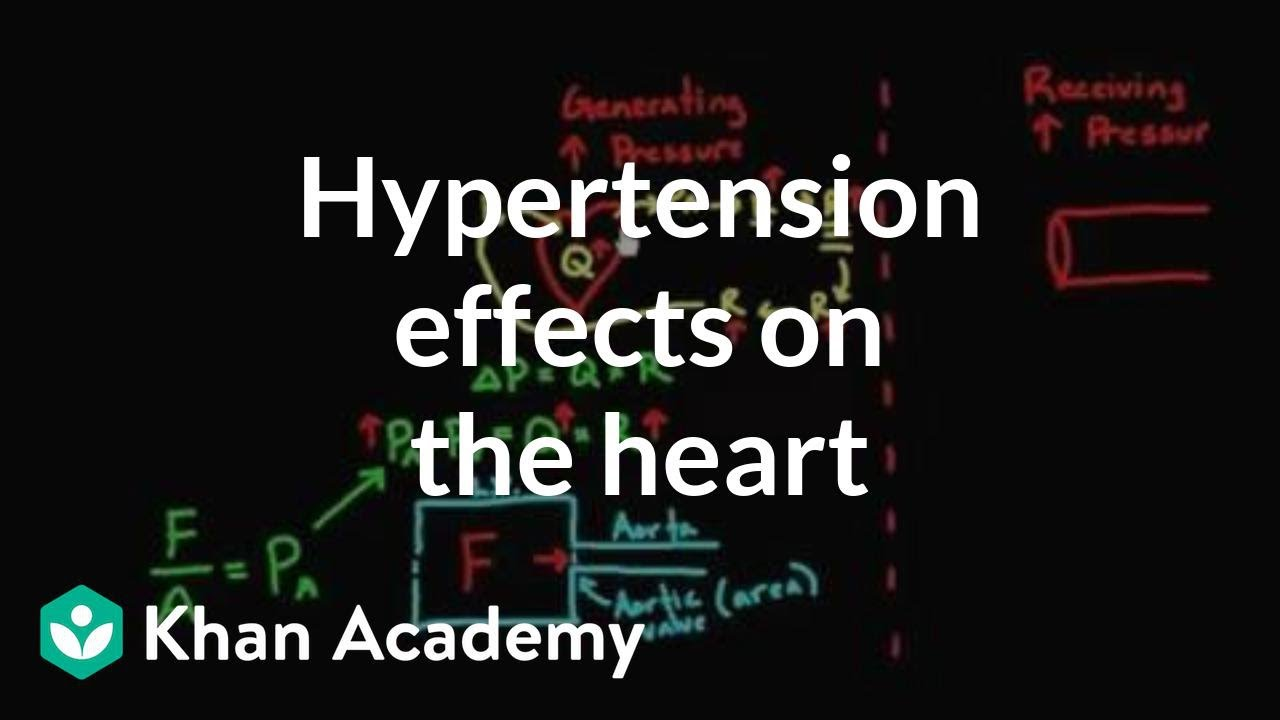 Hypertension effects on the heart - Health & Medicine..