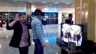 Опасная виртуальная реальность, Прикол 2014, Dangerous virtual reality