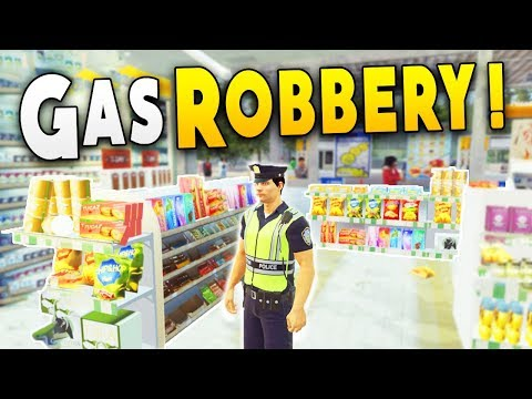 Found Evidence in a Gas Station Robbery and This Happened - Police Simulator : Patrol Duty Gameplay