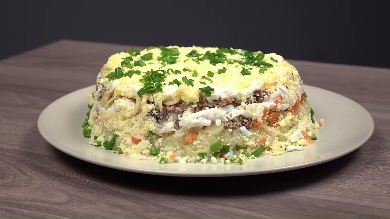 Как приготовить салат Мимоза. Рецепт салата на праздничный стол